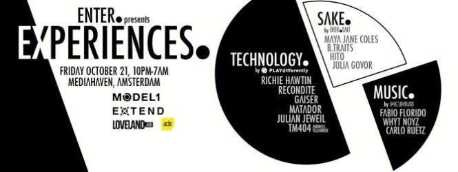 ENTER. presents EXPERIENCES. at Amsterdam Dance Event
