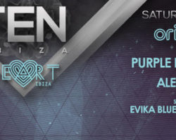 TEN IBIZA'S UNIVERSE LANDS IN THIS SATURDAY AT HEART IBIZA