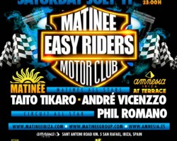 "Matinée ""Easyriders"" are on their way to Ibiza!"